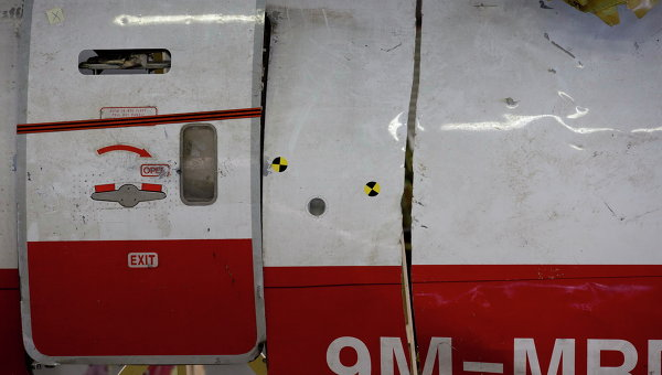 Обломки MH17 на авиабазе в Нидерландах