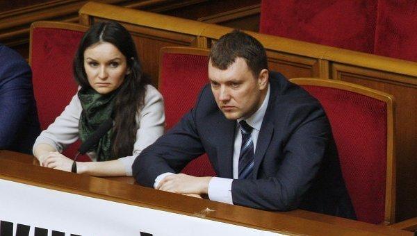Судьи Печерского районного суда Оксана Царевич и Виктор Кицюк