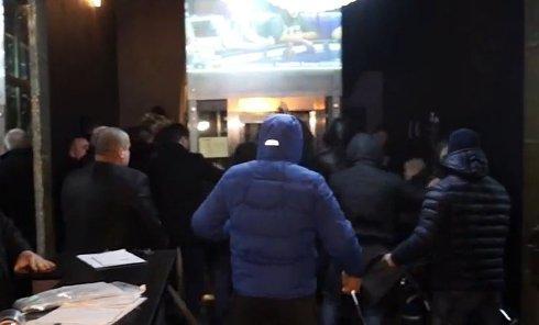 Штурм одесского казино Правым сектором