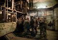 Поднятие тел шахтеров шахты имени Засядько