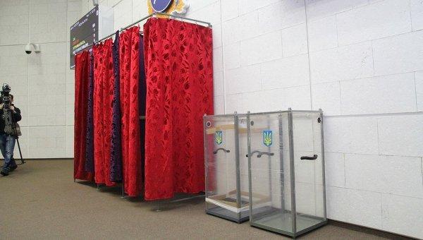 Кабинки для голосования. Архивное фото