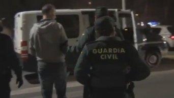 Задержание бывшего министра финансов Украины Юрия Колобова в Испании. Видео
