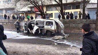 Взрыв на Салтовке в Харькове