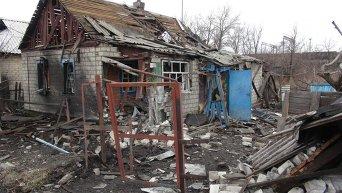 Разрушенное Дебальцево. Архивное фото