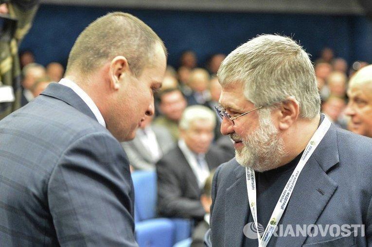 Игорь Коломойский на конгрессе ФФУ