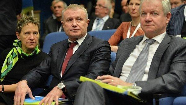 Григорий Суркис на конгрессе ФФУ