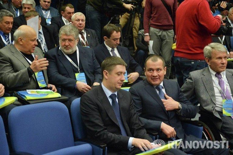 Вице-премьер Украины Вячеслав Кириленко на конгрессе ФФУ