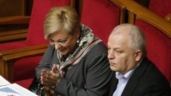 Валерия Гонтарева и Степан Кубив