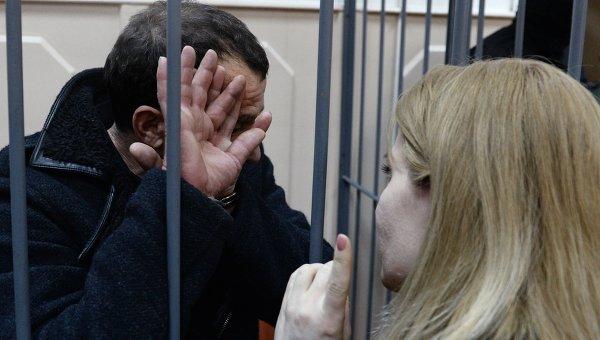 Подозреваемые в убийстве Б.Немцова. Архивное фото
