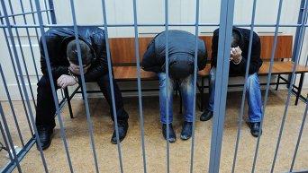 Подозреваемые в убийстве Б.Немцова в Басманном суде Москвы