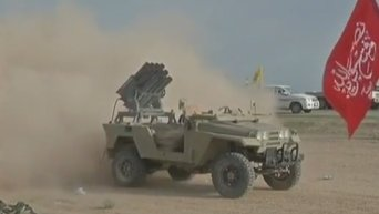 Антиисламистская коалиция нанесла удар по НПЗ на севере Сирии. Видео
