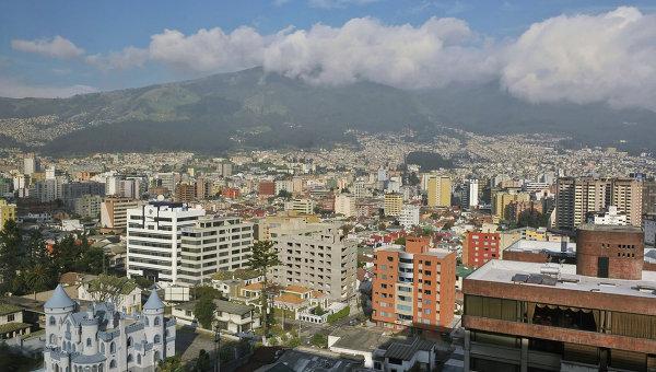 Город Кито - столица Эквадора