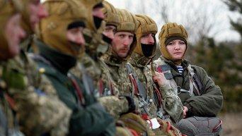 Военные учения в Украине. Архивное фото