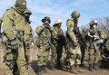Учения личного состава 80 отдельной аэромобильной бригады ВДВ