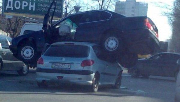 ДТП на Черемушках в Одессе
