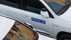 Автомобили миссии ОБСЕ в Украине