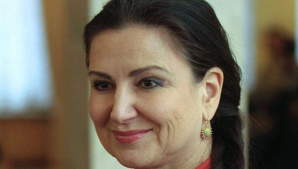 Депутат Партии регионов Инна Богословская