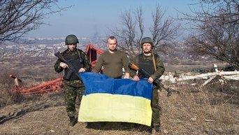 Позиция военных Нацгвардии под Славянском (Карачун)