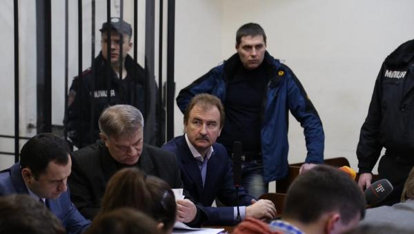 Александр Попов на судебном заседании по делу о разгоне Евромайдана. 13 марта 2015