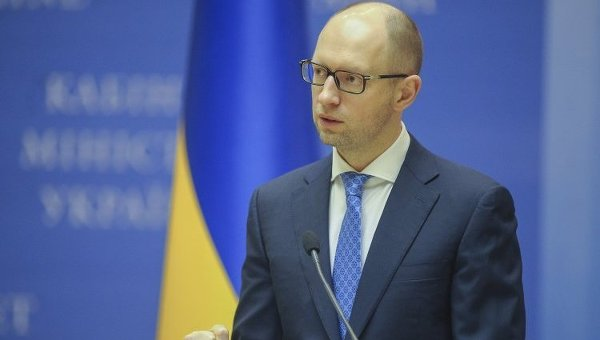 Премьер-министр Украины Арсений Яценюк. Архивное фото