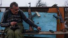 Ситуация в районе Луганска