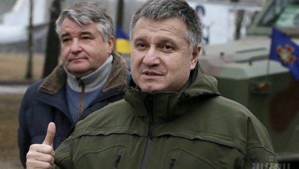 Министр внутренних дел Арсен Аваков