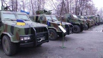 Турчинов и Аваков испытали новую военную технику