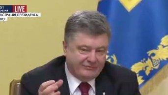 Порошенко: Им нужна вся Украина, не только Донецк и Луганск