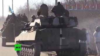 Представитель ОБСЕ: Отвод тяжелой боевой техники пока не завершен