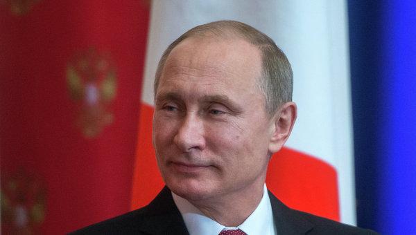 Президент РФ В.Путин провел встречу с премьер-министром Италии М.Ренци