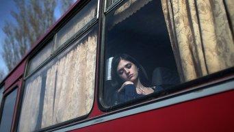 Поездка в автобусе. Архивное фото