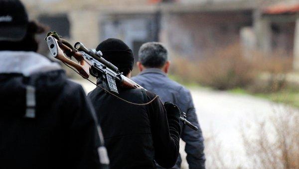 Ситуация в Сирии. Боевики ИГ. Архивное фото