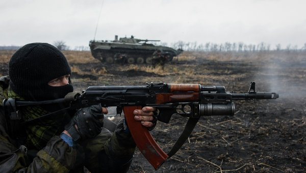 Ополчение Донбасса. Архивное фото