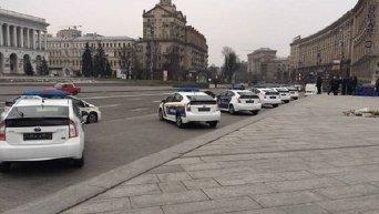 Автомобили киевской полиции