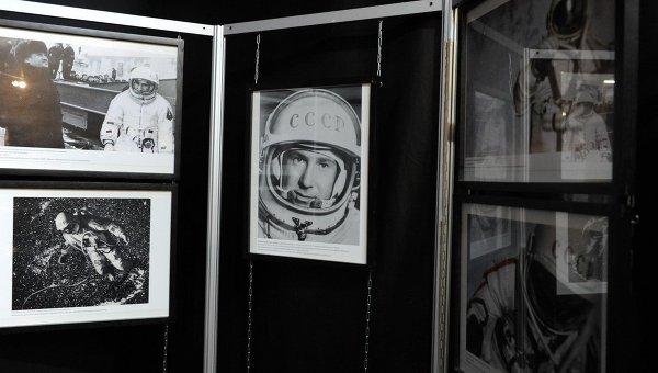 Выставка Космос: Машина времени, посвященная 50-летию первого выхода человека в космос