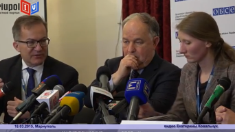Миссия ОБСЕ не может попасть на оккупированные территории под Мариуполем