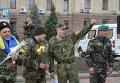 Встреча демобилизованных бойцов ВСУ в Кировограде