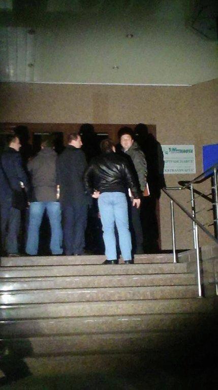 При входе в Укртранснафту