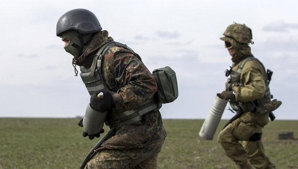 Бойцы батальона Азов