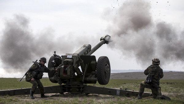 Учения батальона Азов