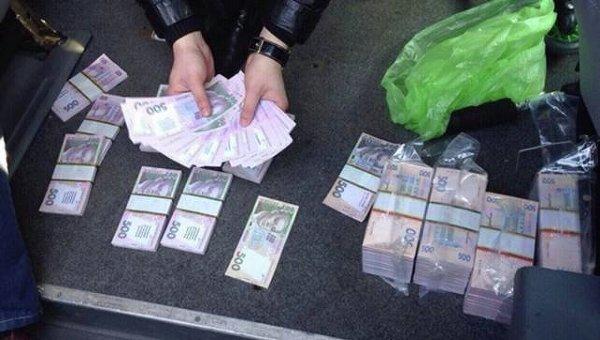 Задержание с поличным на взятке в Броварском районе Киевской области