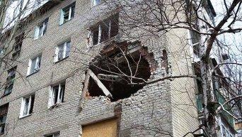 Авдеевка после разрушительных обстрелов