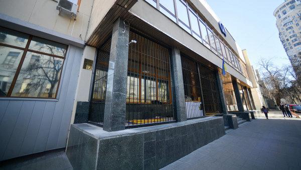 Возле здания Укрнафты. Архивное фото