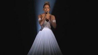 Платье Дженнифер Лопез. Видео