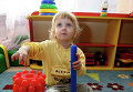 Ребенок в детском саду. Архивное фото