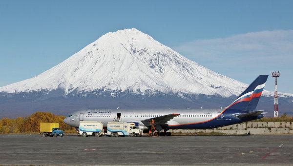 Международный аэропорт Елизово на Камчатке