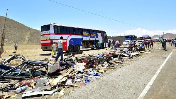 Авария в Перу. Архивное фото