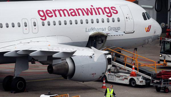 Самолет авиакомпании Germanwings. Архивное фото