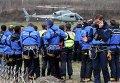 Поисково-спасательная операция в районе крушения А320 во Франции