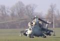 Под Киевом разбился военный вертолет Ми-8